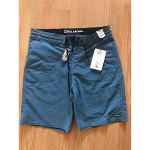 Billabong board shirts blue/teal
